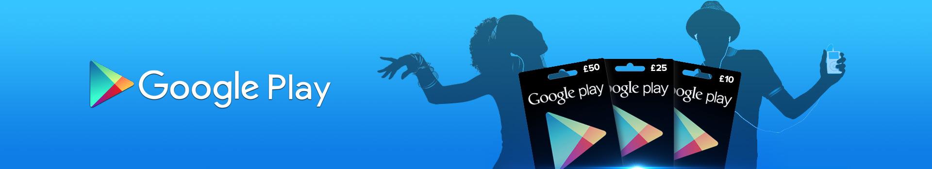 Buy Google Play Card