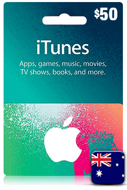 iTunes Gift Card 50 Aud - AU