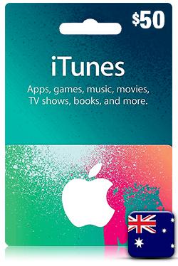 iTunes Gift Card 50 Aud - AU