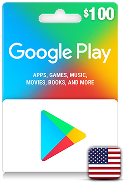 Google Play Gift Card 100 USD - US