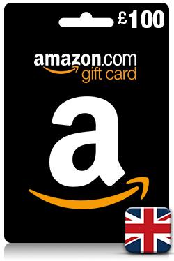 Amazon Gift Card 100 GBP - [ UK ]