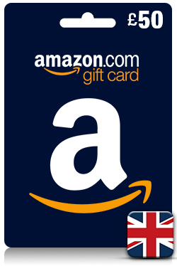 Amazon Gift Card 50 GBP - [ UK ]