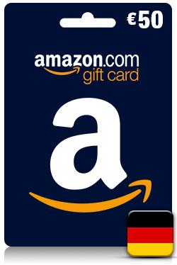Amazon Gift Card 50 EUR - [ DE ]