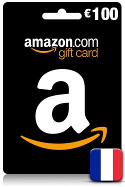 Amazon Gift Card 100 EUR - [ FR ]