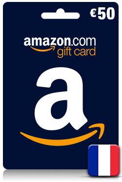 Amazon Gift Card 50 EUR - [ FR ]
