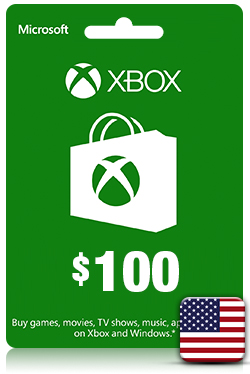 Xbox Live Gift Card - 100 USD [ US ]