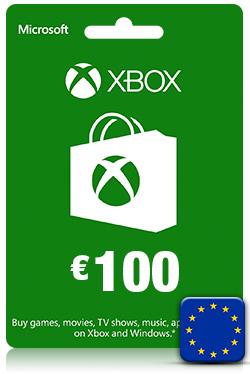 Xbox Live Gift Card -100 Euro [ EU ]