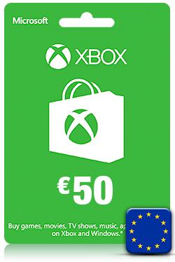 Xbox Live Gift Card -50 Euro [ EU ]