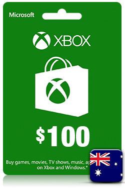 Xbox Live Gift Card - 100 AUD [ AU ]