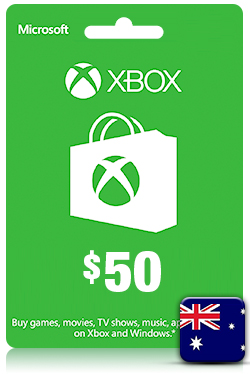 Xbox Live Gift Card - 50 AUD [ AU ]