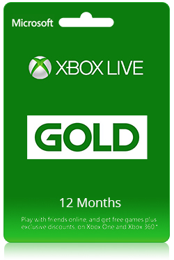 Xbox Live Gold - 12 Months Membership [ Global ]