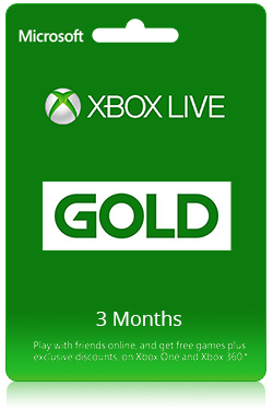 Xbox Live Gold - 3 Months Membership [ Global ]