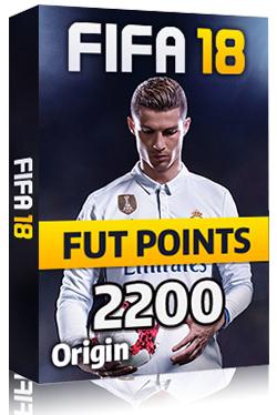 FIFA 18 PC 2200 FUT POINTS