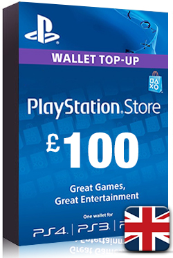 Buy PlayStation Network Card PSN Key 100 Pound [ UK ] for Cheap
