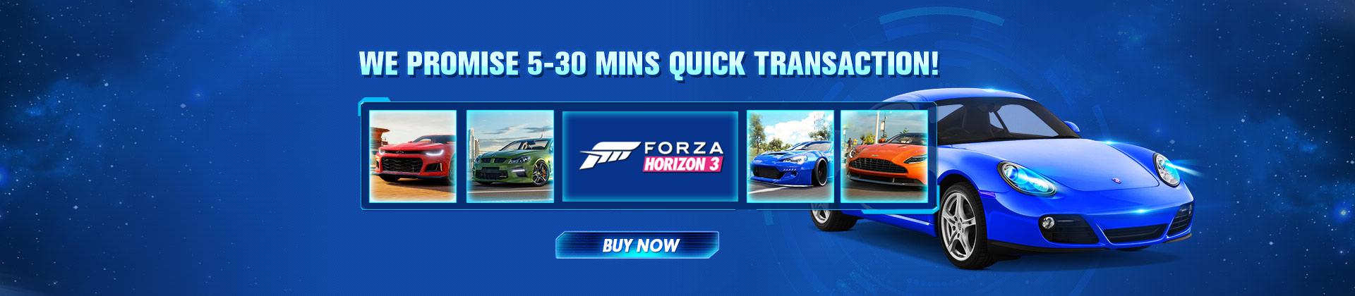 Buy Forza Horizon 3 Credits