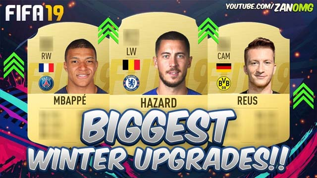 FIFA19 Winter Upgrades Prediction