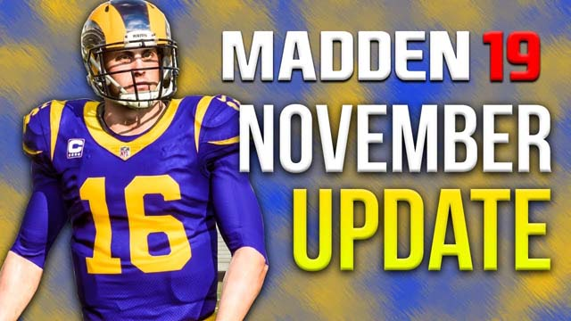 Madden 19 November Update